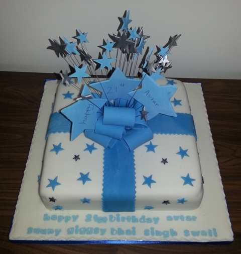 Superb 21 St Boys Birthday Cake Cake That Manchester Personalised Birthday Cards Xaembasilily Jamesorg
