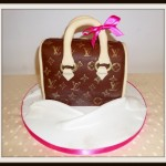 LV handbag birthday cake
