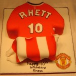 man united shirt birthday cake