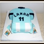 Manchester City Shirt birthday cake