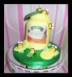 Honey pot cake