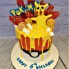 sixth birthday cake pikachu